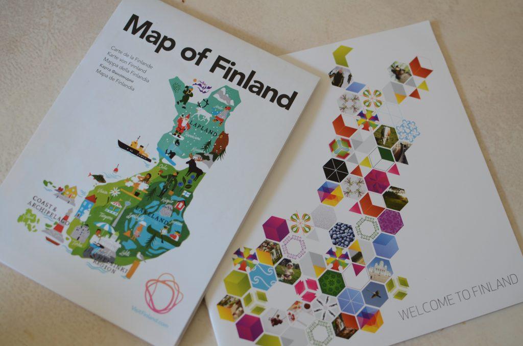 芬兰驻巴黎大使馆的宣传册