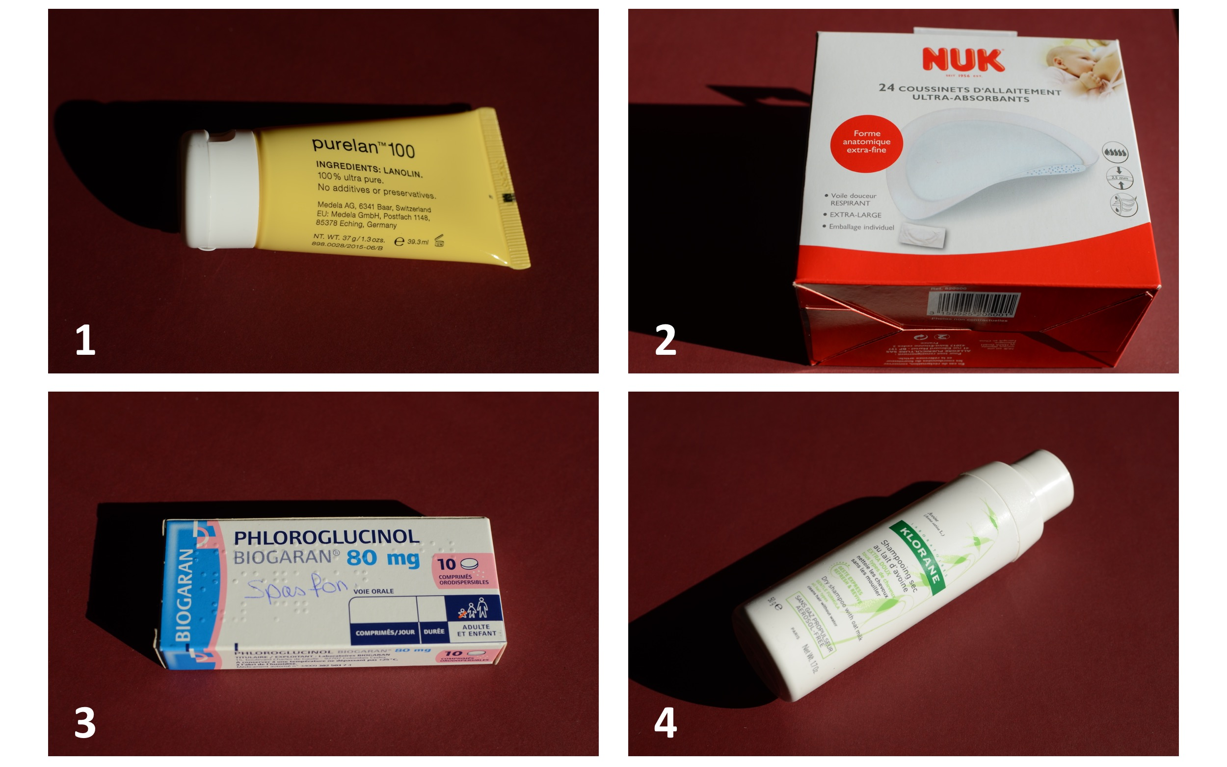 Additional stuffs for the stay in the hospital