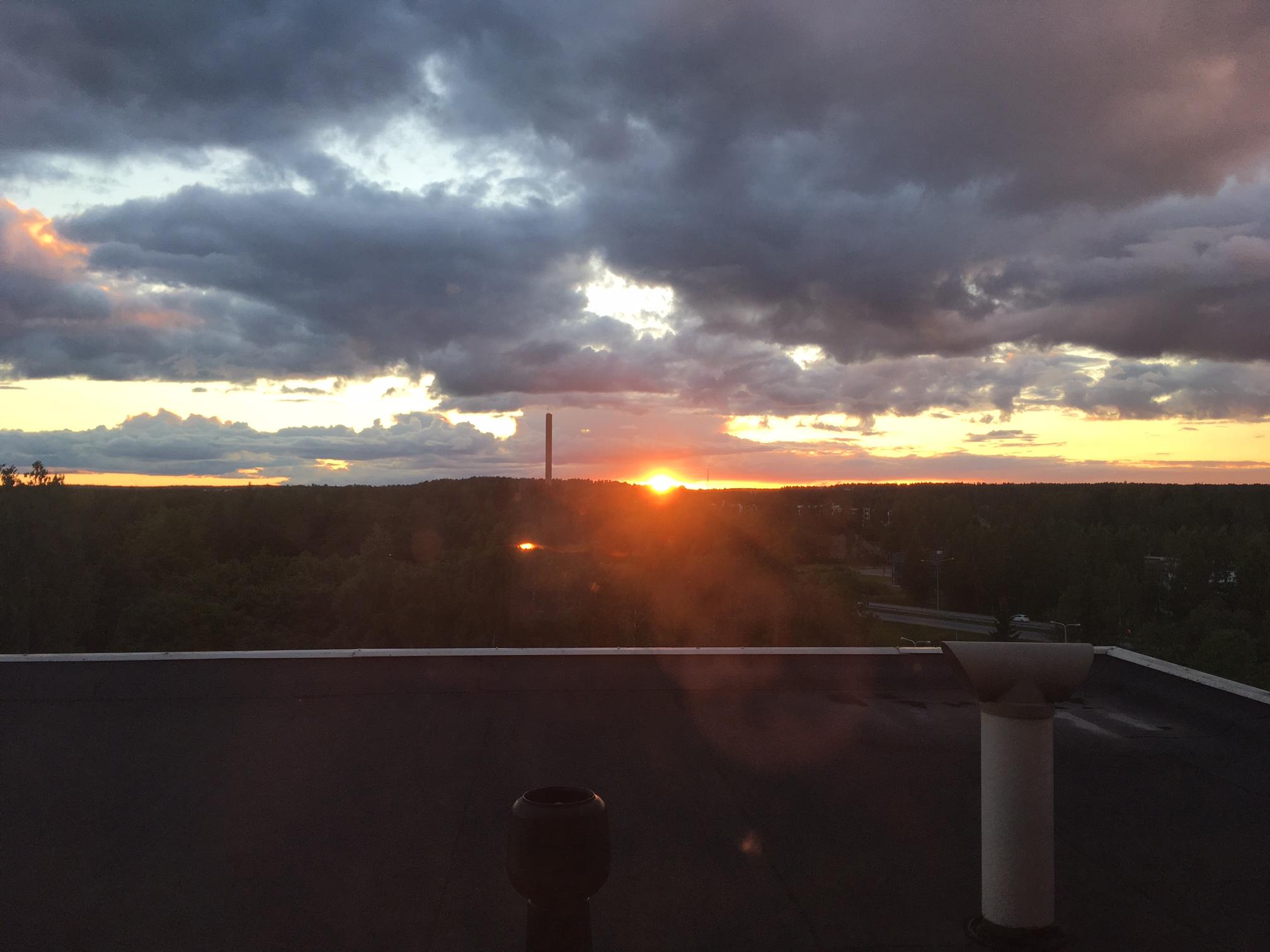 Espoo Jun sunset