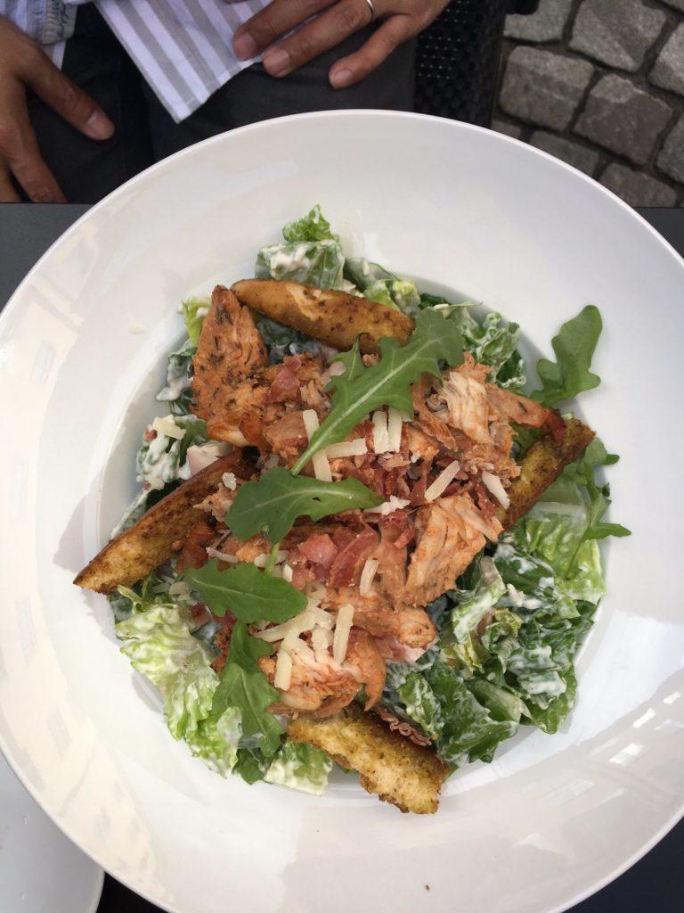 Cafe Kladdkakan caesar salad