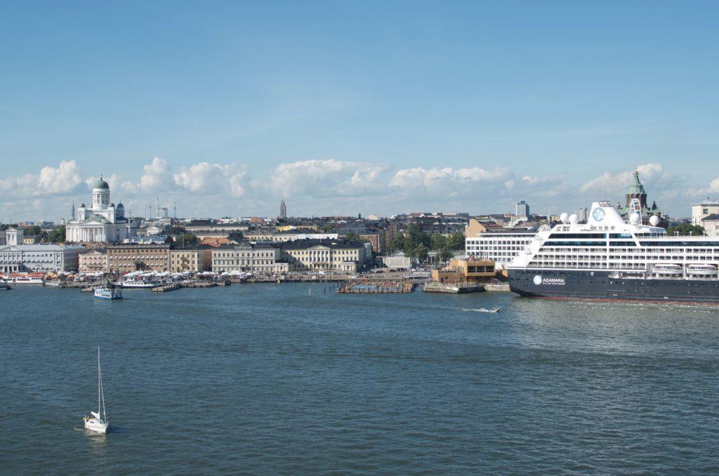 Silja symphony leaving Helsinki