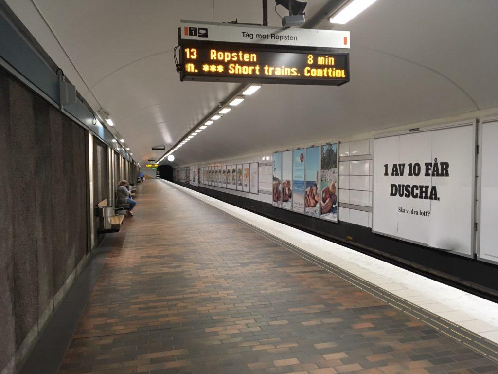 stockholm subway 13