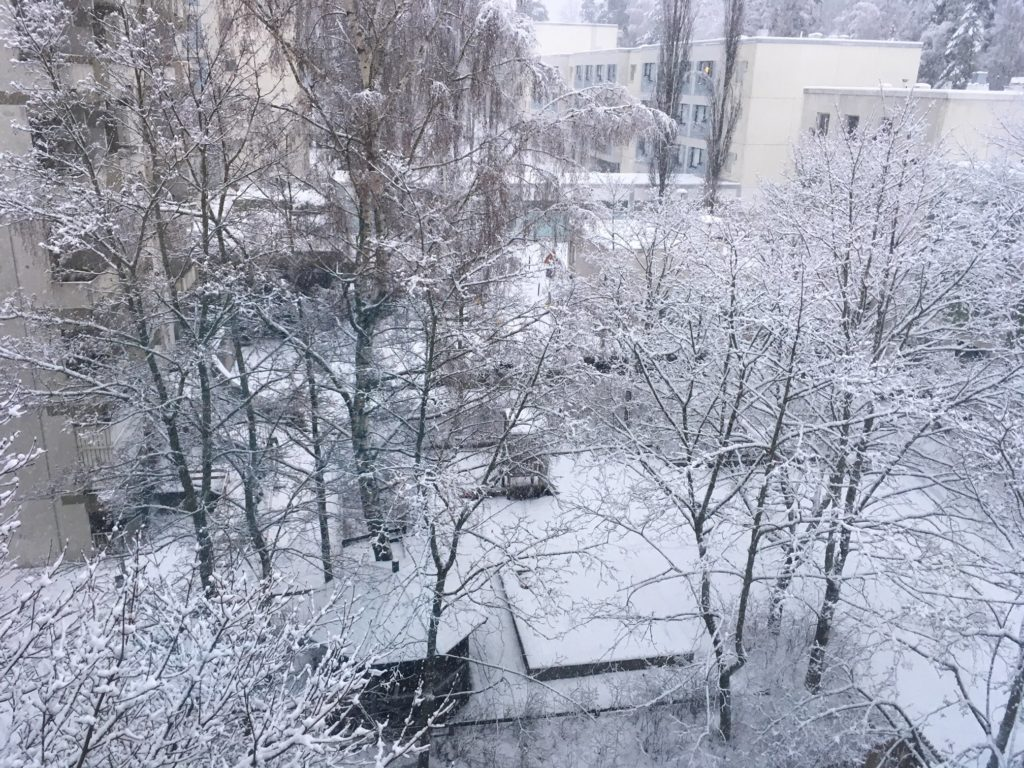 Espoo snow