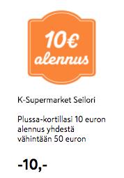 K-supermarket coupon