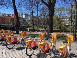 图尔库公共自行车
