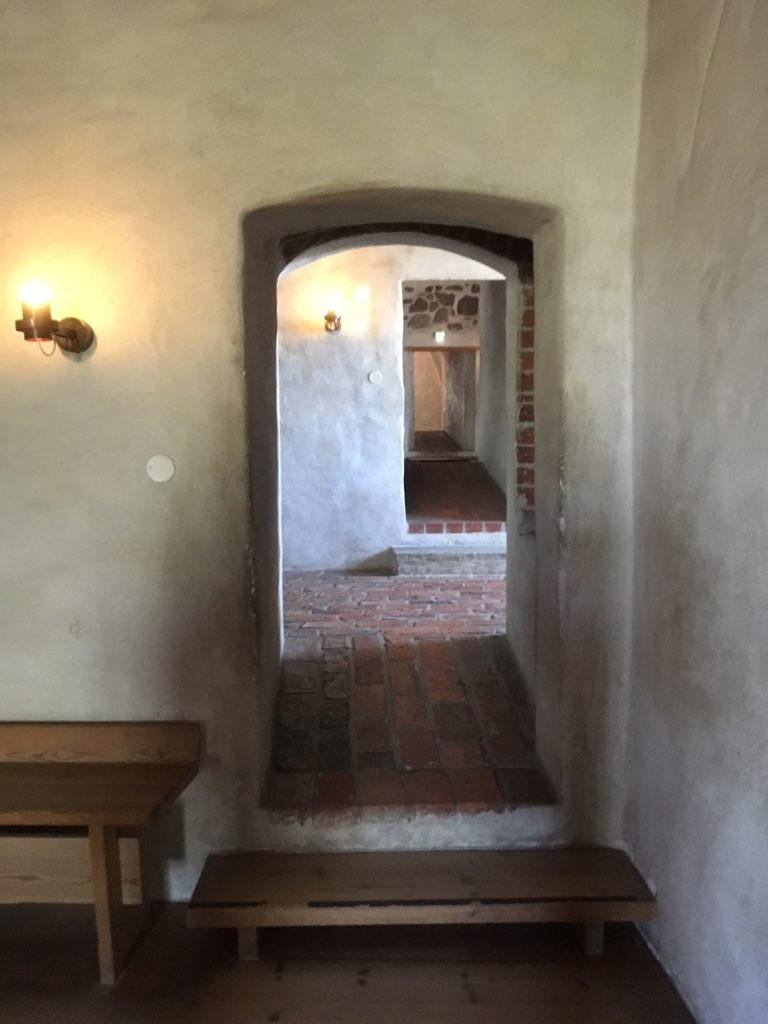 图尔库古城堡内部
