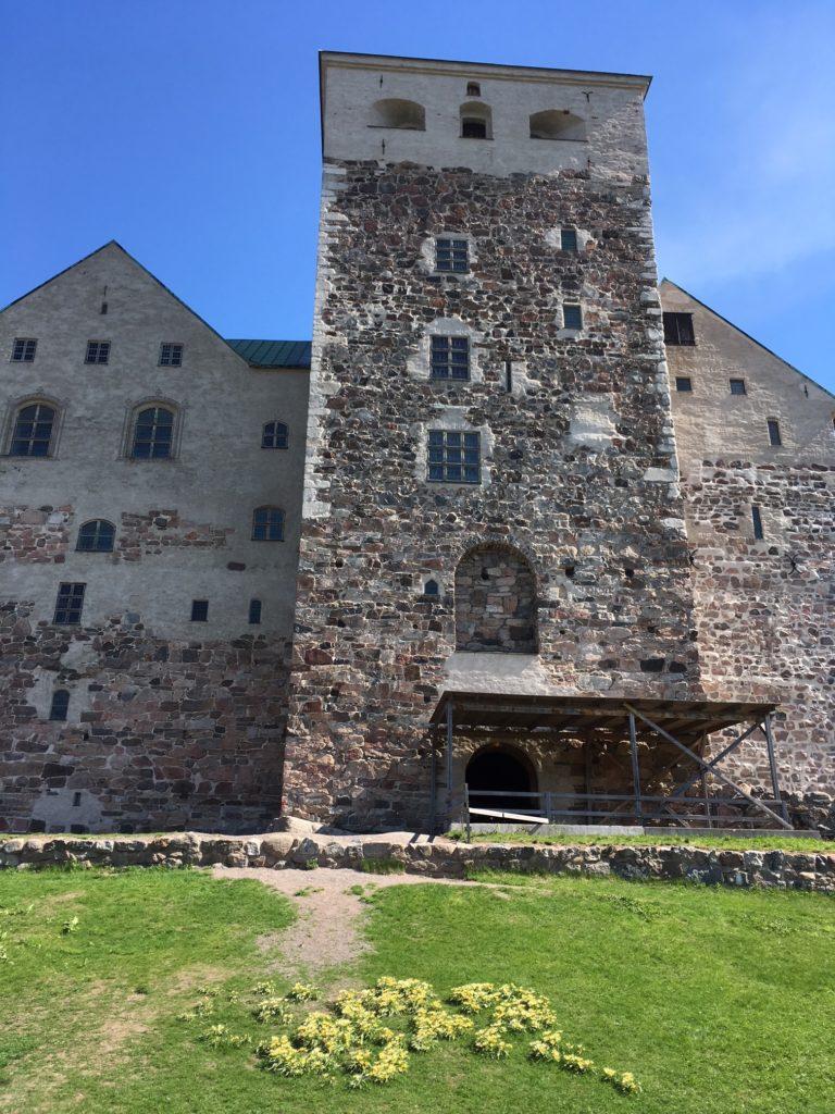图尔库古城堡后门