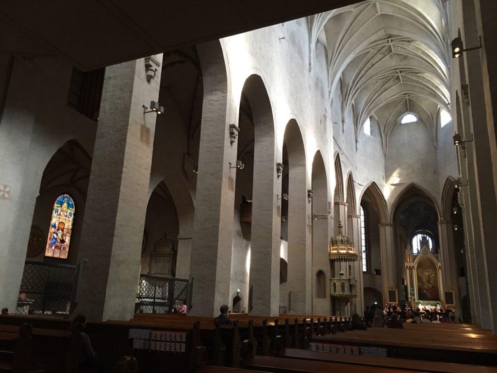 图尔库大教堂内部