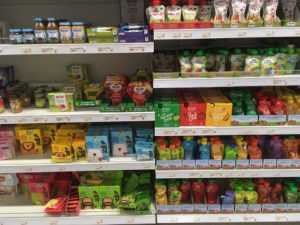 Netto supermarket baby food