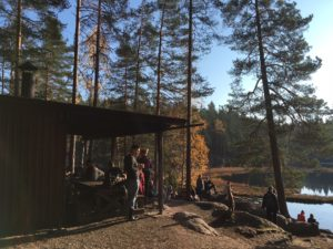 Nuuksio october 12 bbq picnic