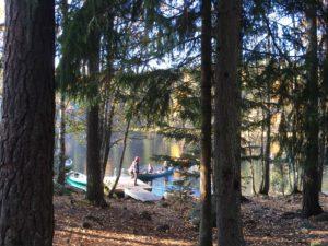 Nuuksio october 8 kayak