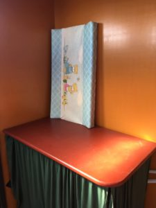 changing table in WC
