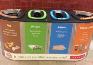 trash can in Sello