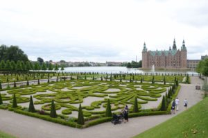 Frederiksborg Castle and garden