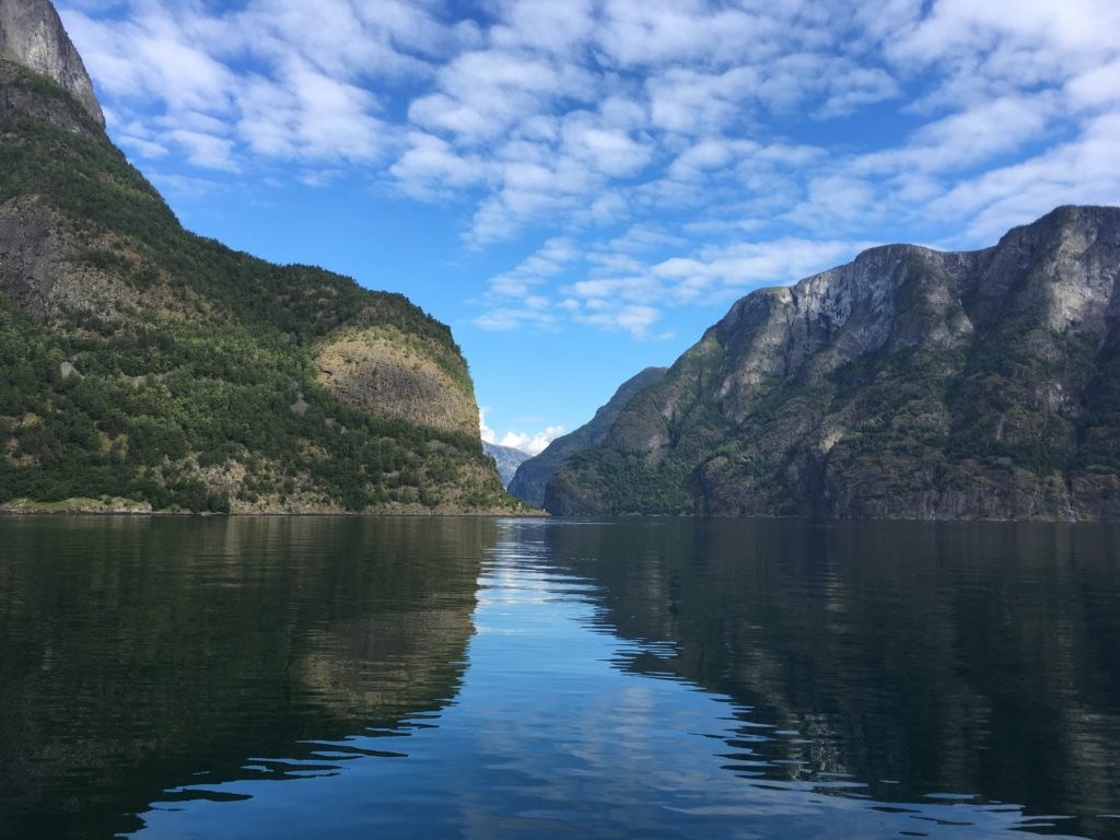 fjord from tour boat