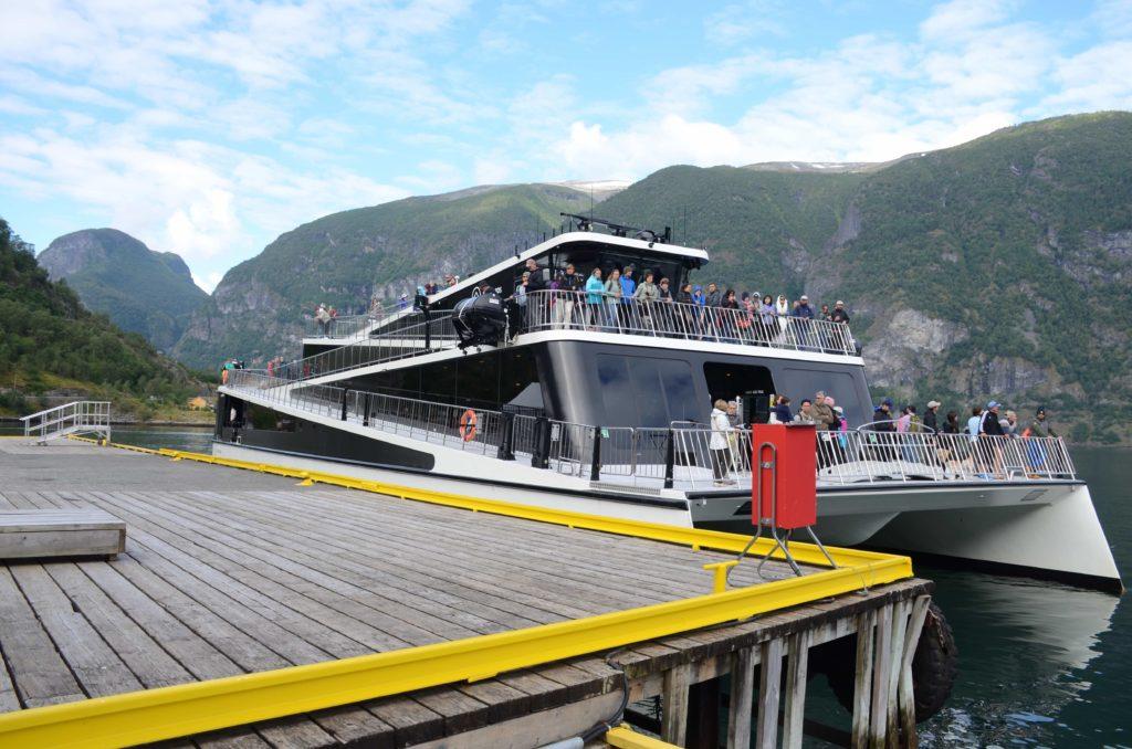 fjord tour premium boat