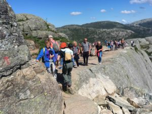 preikestolen return way