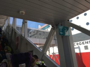 fjordline boarding lift