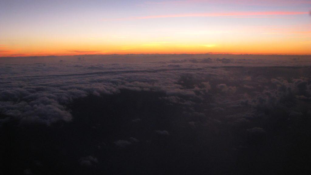 Hawaii big island sunrise
