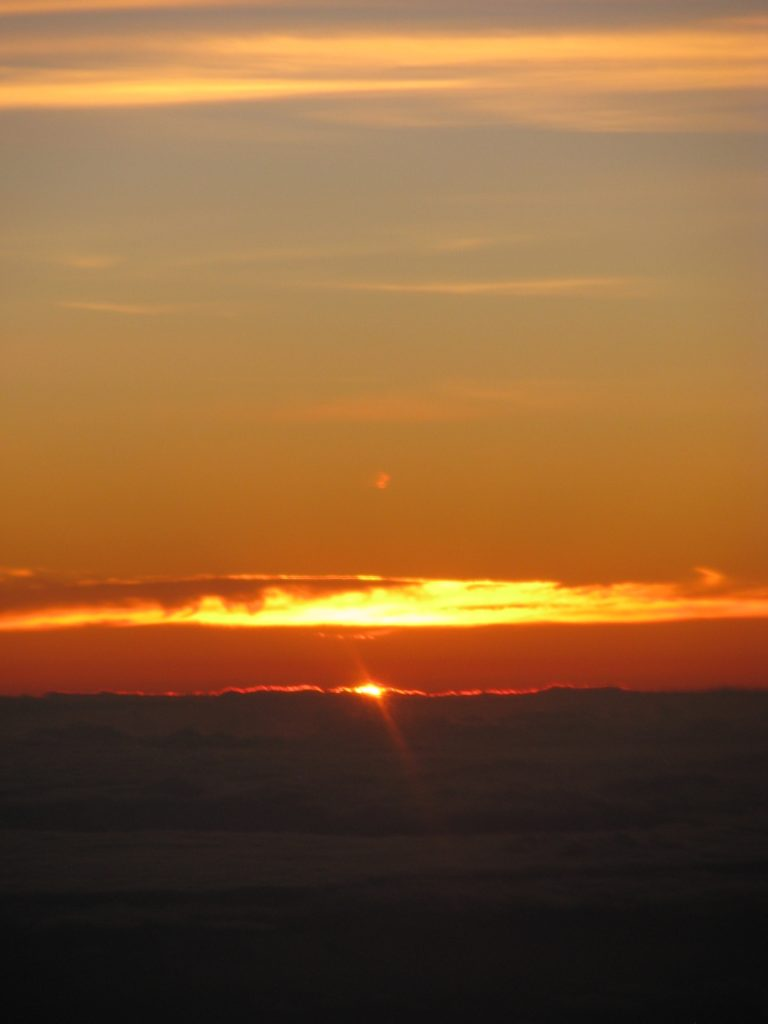 Hawaii big island sunrise 2
