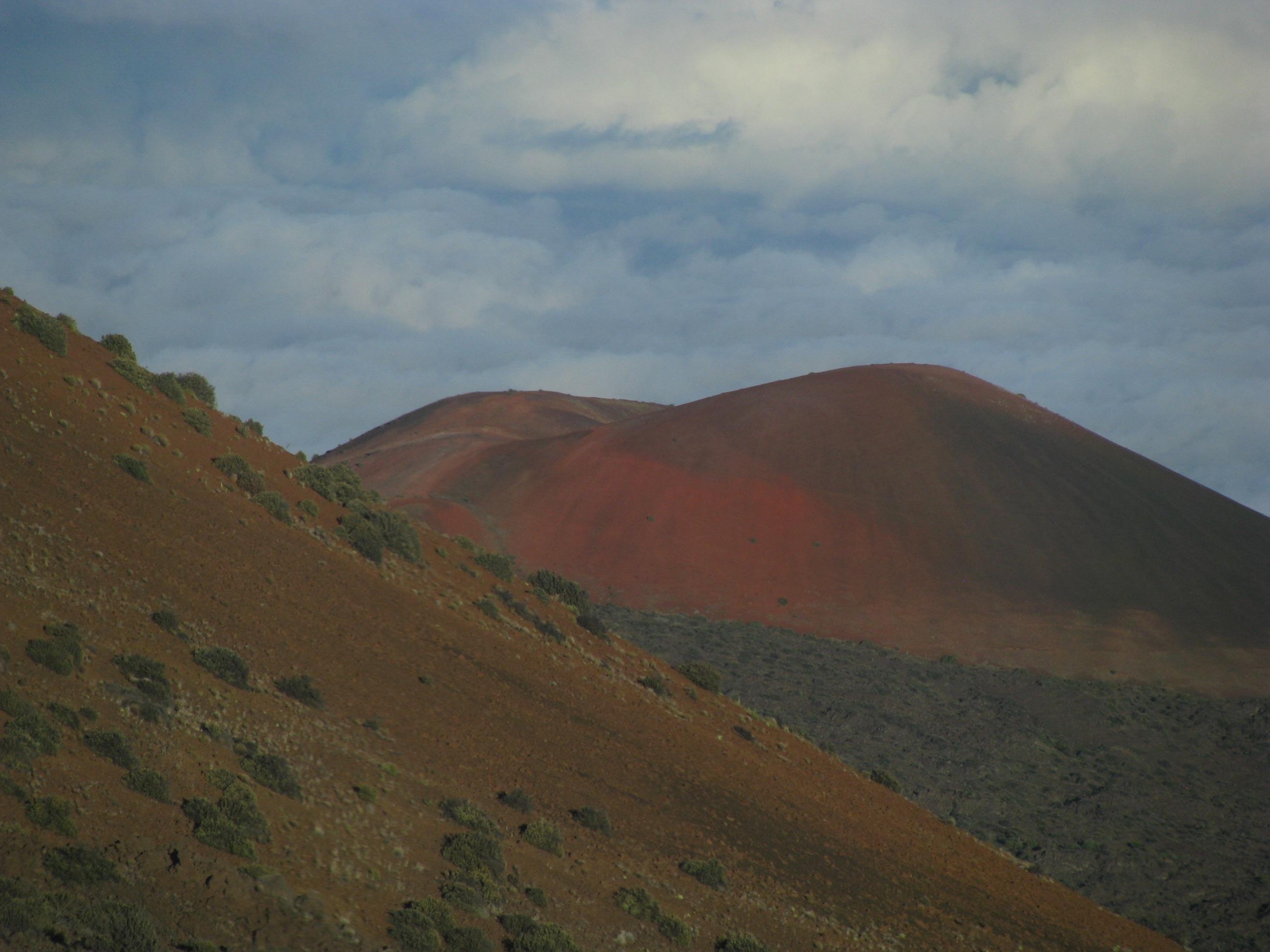 Mauna Kea Observatories Volcano closeup