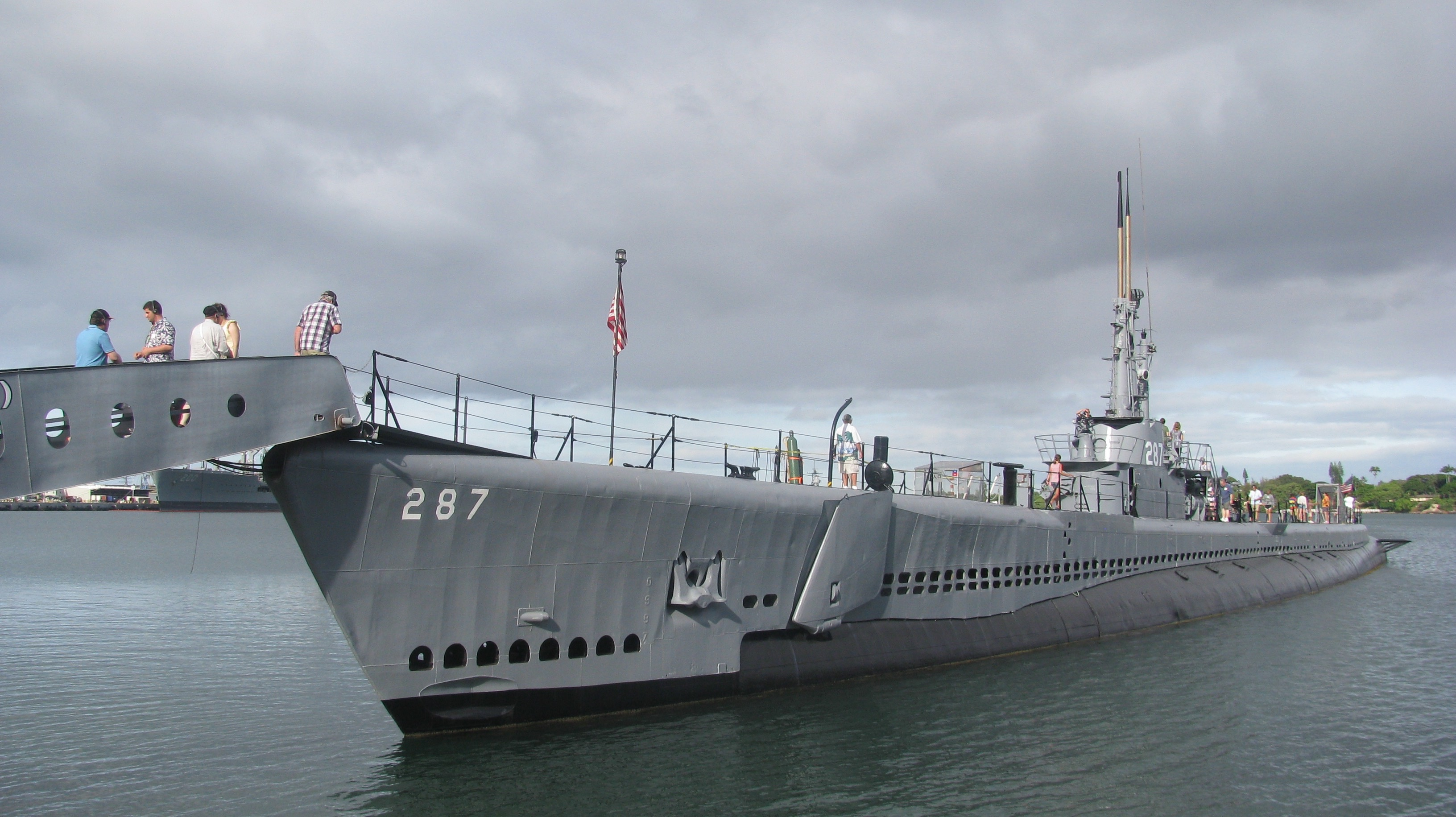 pearl harbor USS Bowfin Submarine