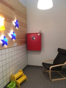 Nursing room in IKEA