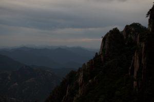 Paiyun Pavilion sunset