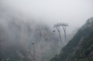 黄山 ロープウェイ