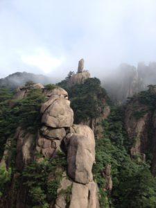 黄山 飛来石