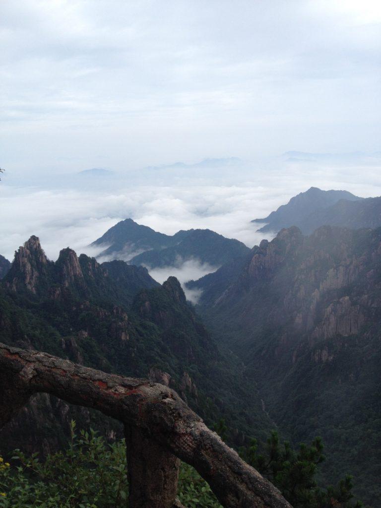 黄山の雲海