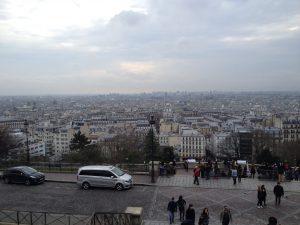 パリ・モンマルトルの丘