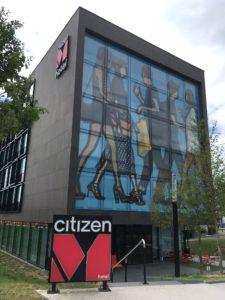citizenMホテルの外観