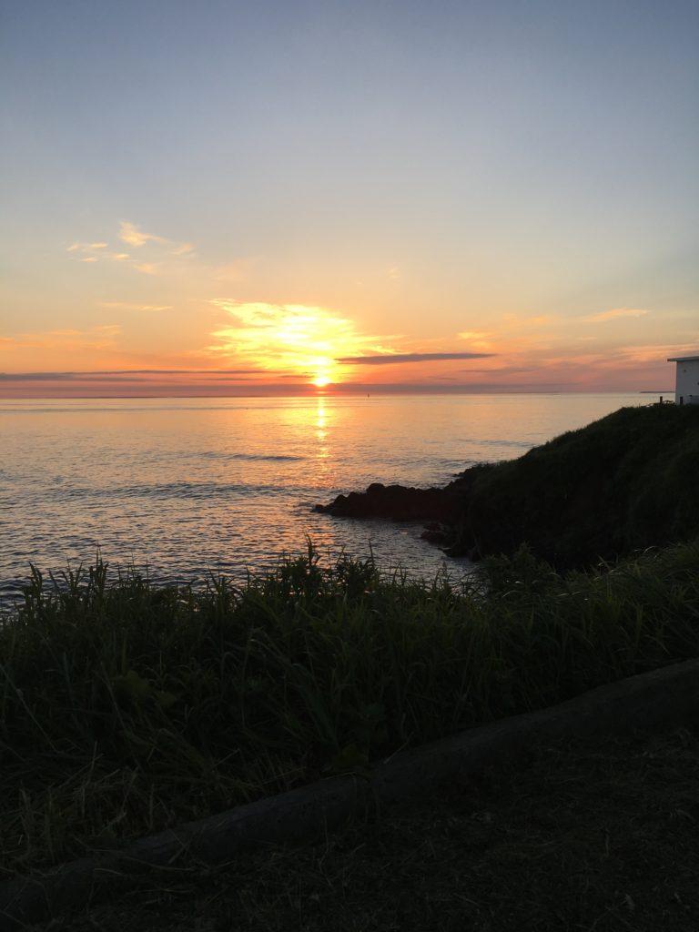 納沙布岬の日の出2