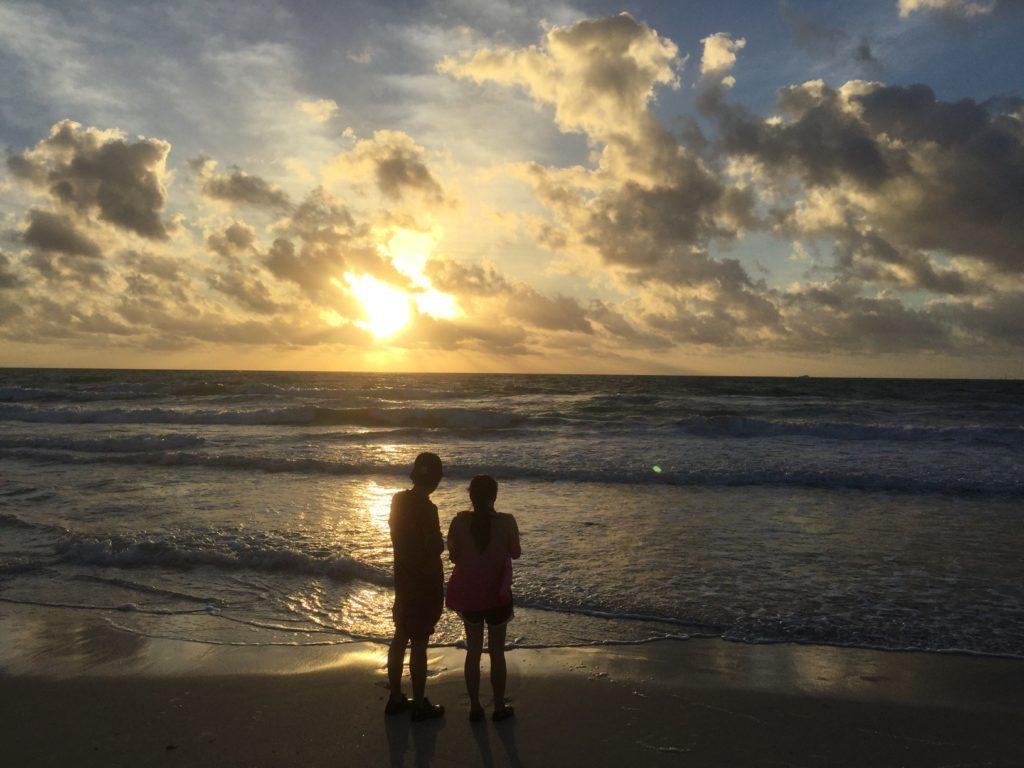 マイアミビーチの朝