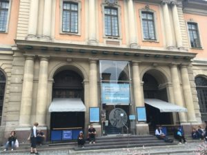 ノーベル博物館の正面