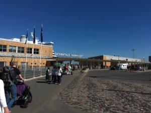 tallink silja lineのフェリーターミナル