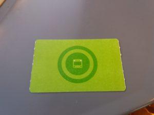 ヘルシンキの自動発券機から購入したデイチケット