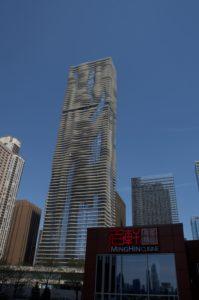 シカゴの街中でdimsum