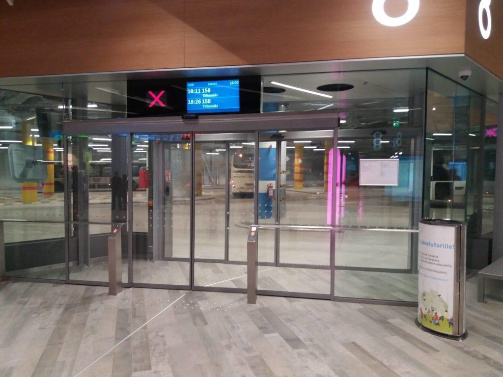 IsoOmenaバス駅