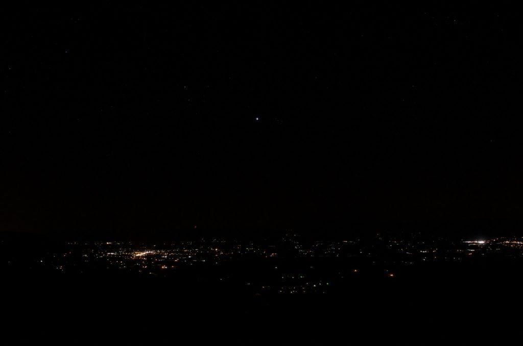シェナンドー国立公園からの夜景