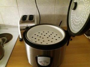 炊飯器に付ける蒸し器