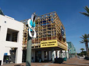 ニューオリンズ水族館の入り口