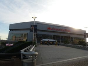 ニューオリンズのNBAスタジアム