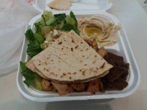 ニューオリンズ・リバーウォークの中東料理