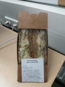 ペストーソースのサンドイッチ