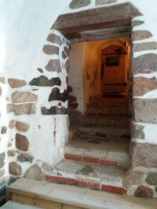 トルゥク城への入り口