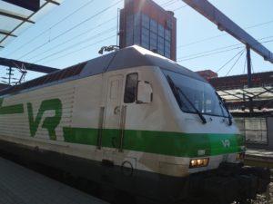 VRの電車