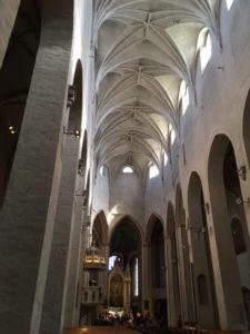 トゥルク大聖堂の中
