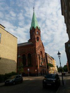 コペンハーゲン北側のJerusalemskirken